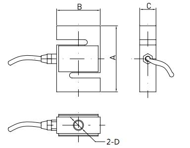s型拉压力传感器